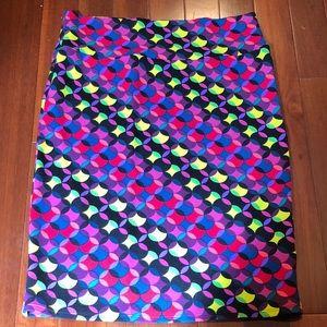 LuLaRoe Cassie Pencil Skirt - Size XL